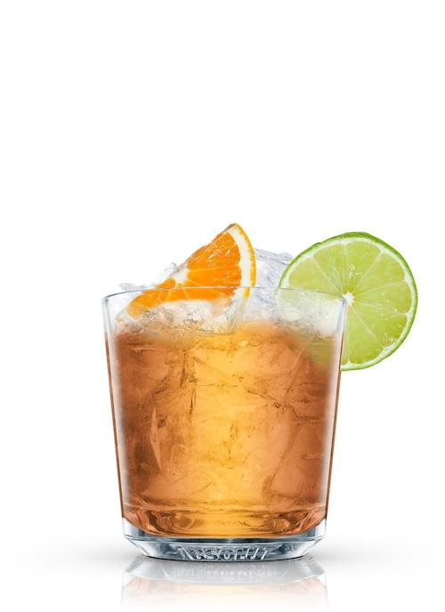 rum scoundrel against white background