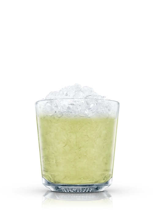 absolut pineapple mint against white background