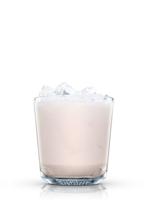 tiger's milk against white background