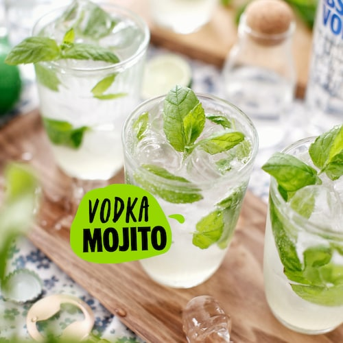 vodka mojito in environment