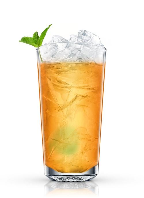 orient ice tea against white background