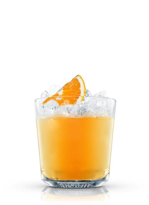 agent orange against white background