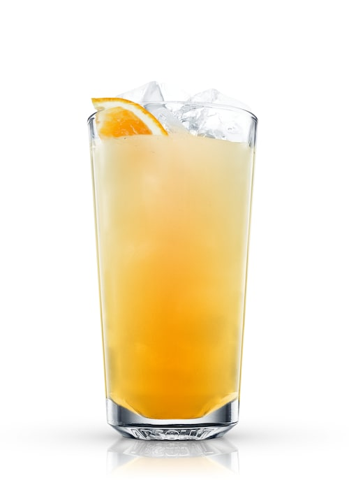 tequila screwdriver against white background