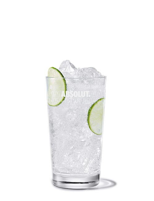 hard seltzer drink against white background