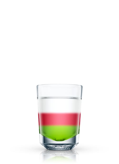 union jack shooter against white background