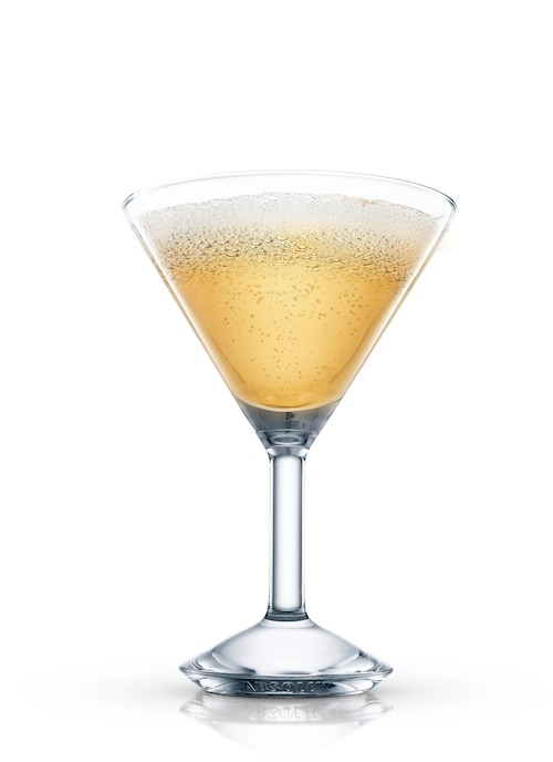 ritz cocktail against white background