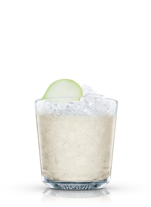 absolut pear crush against white background