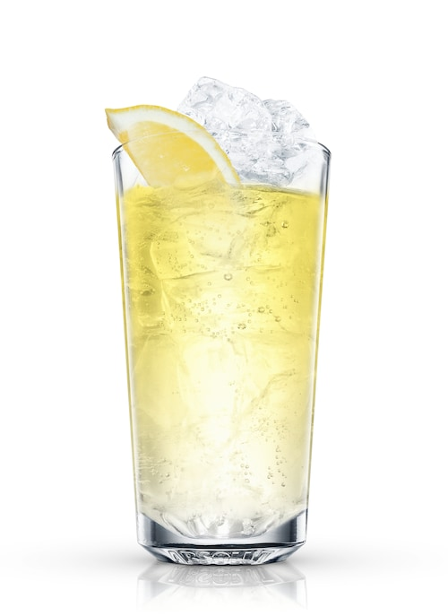 absolut citron lemonade against white background
