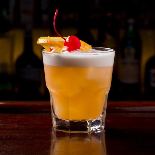 bourbon sour in environment