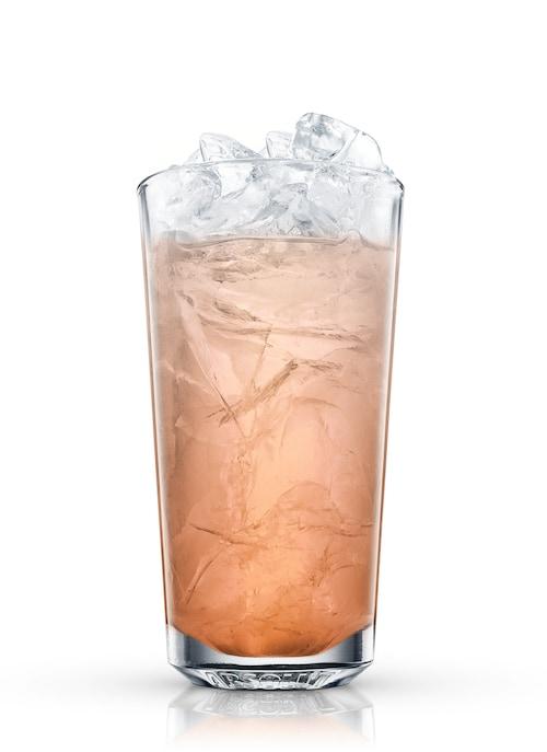 brandy highball against white background