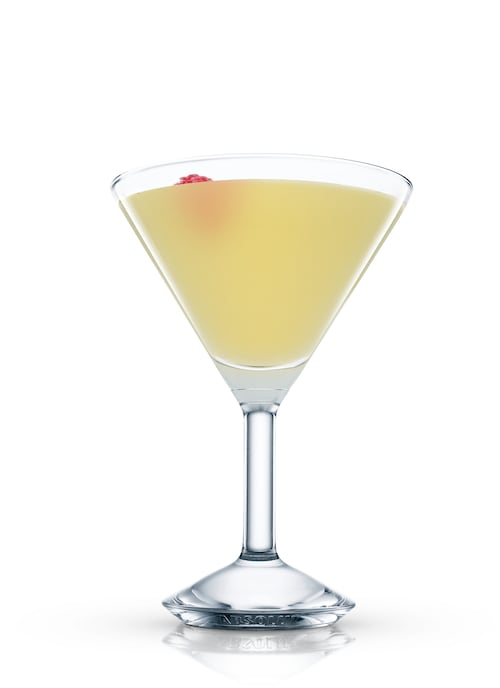 absolut grcic mayday martini against white background