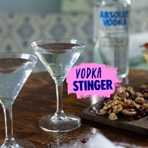 vodka stinger in environment