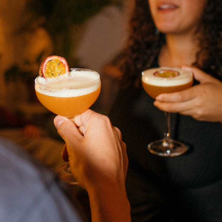 Passion Fruit Martini