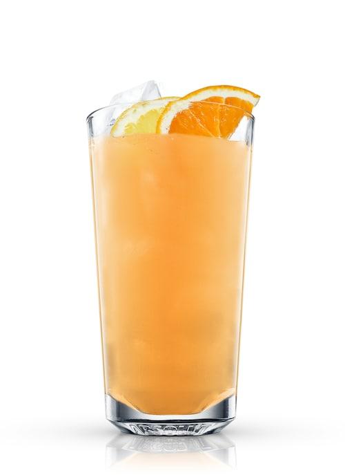summertime soda against white background
