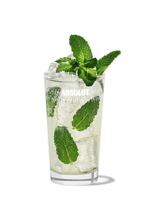 mojito against white background