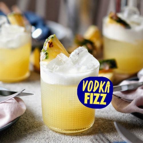 vodka fizz in environment
