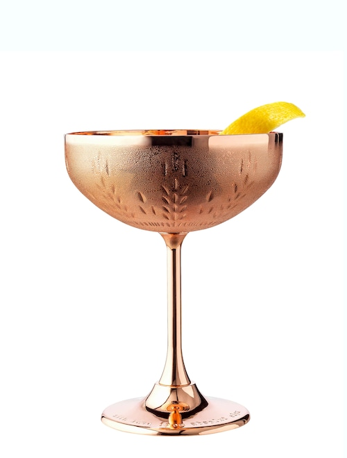 the elyx martini against white background