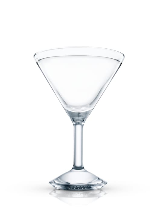 vodka stinger against white background