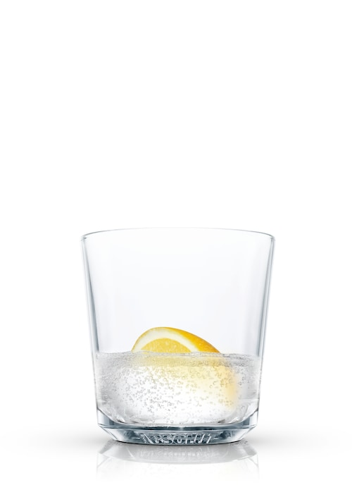 absolut crystal clear against white background