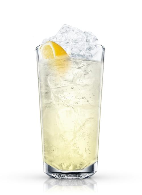 gin sling against white background