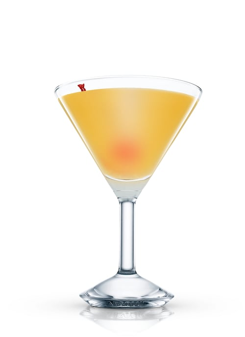 starlight cocktail against white background
