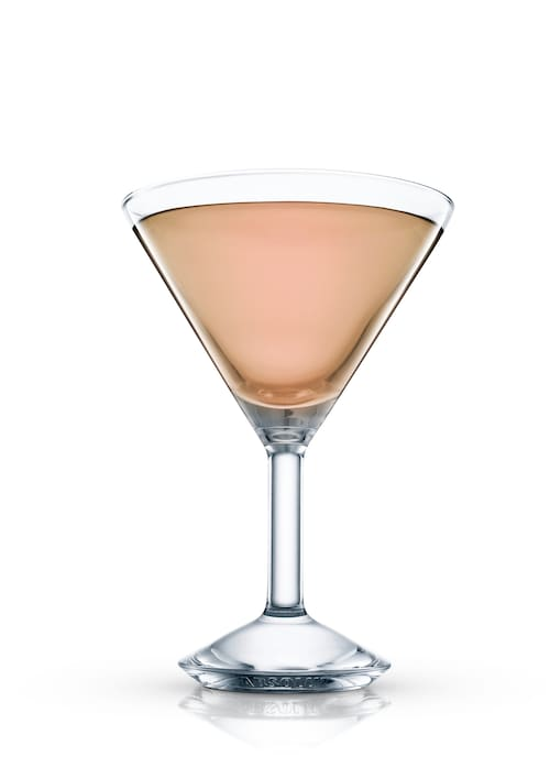 haitian cocktail against white background