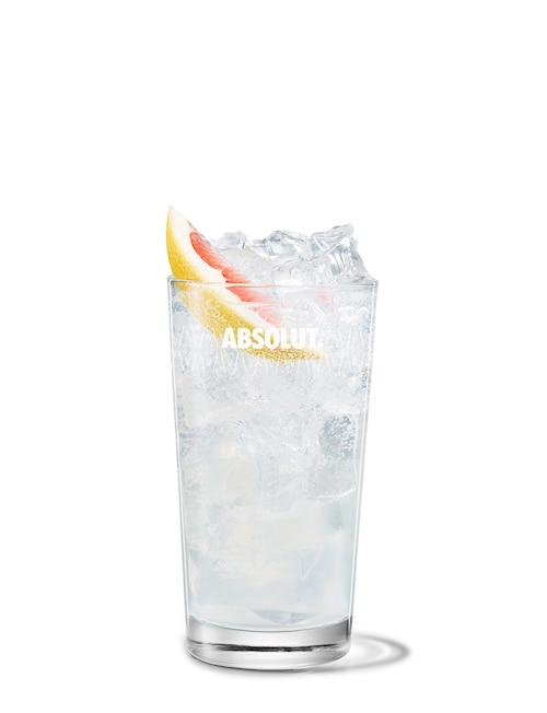absolut ruby collins against white background