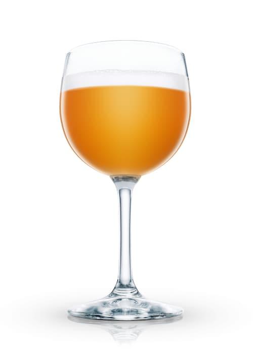 scotch egg-nog against white background