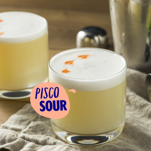 pisco sour in environment