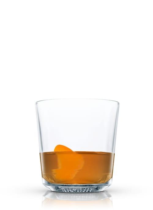 orange rum runner against white background