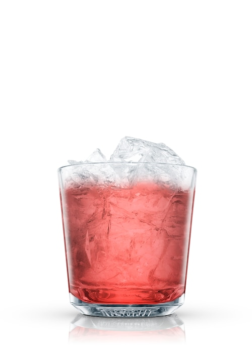gin toddy against white background