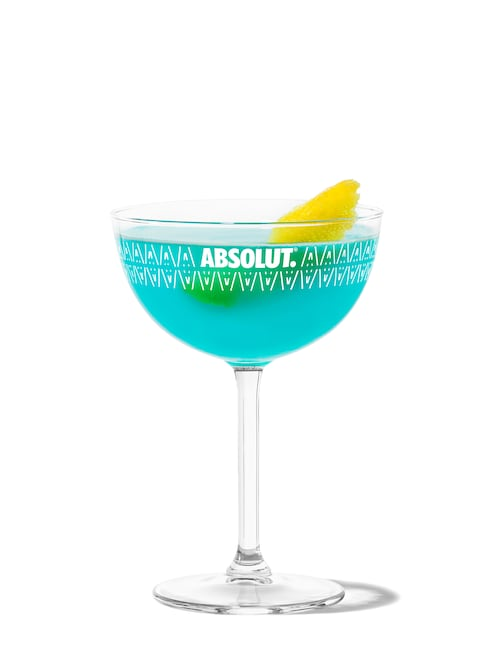 corpse reviver (no. blue) against white background