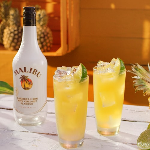malibu and pineapple in environment