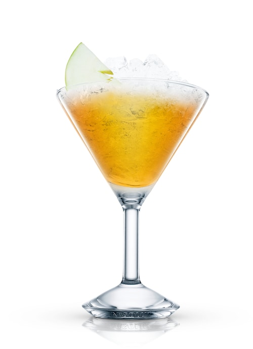 virgin appletini against white background