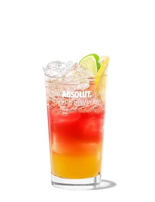 absolut punch against white background