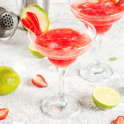 strawberry daiquiri in environment