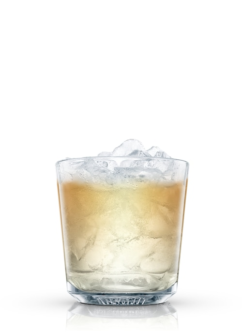 tequila slammer against white background