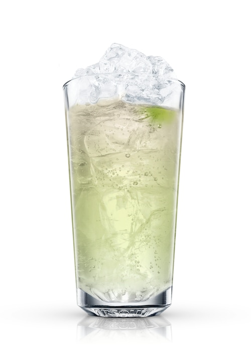absolut citron wave rider against white background