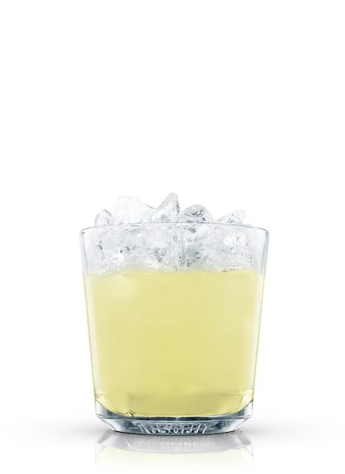 rum fizz against white background