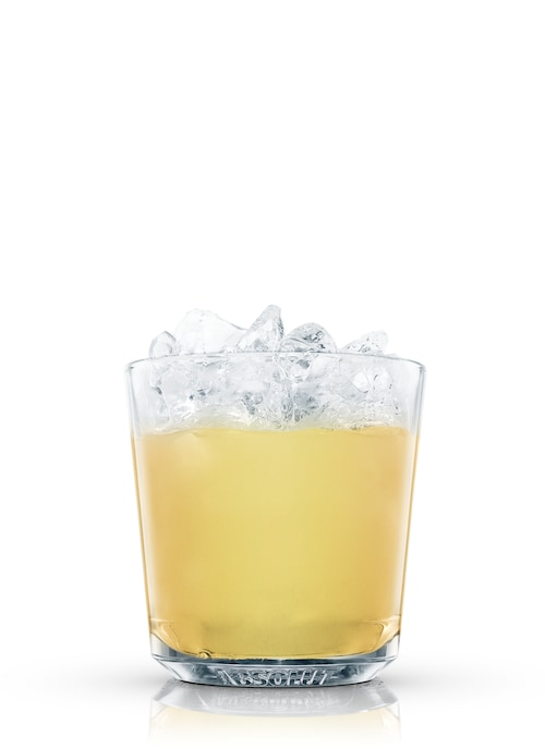 morning glory fizz against white background