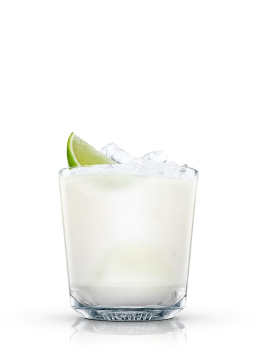 absolut cilantro coco against white background