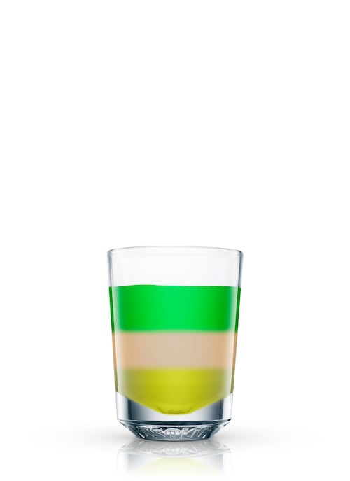 absinthe without leave against white background