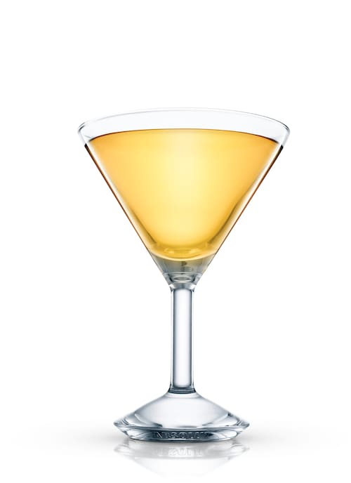 hawaiian cosmopolitan against white background