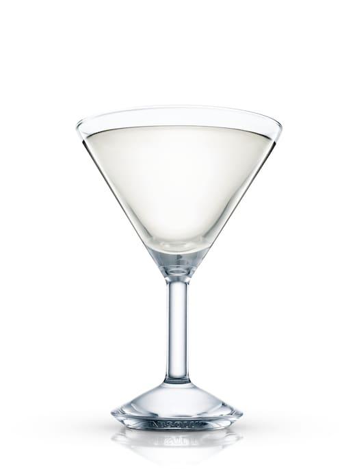 absolut ginger martini against white background