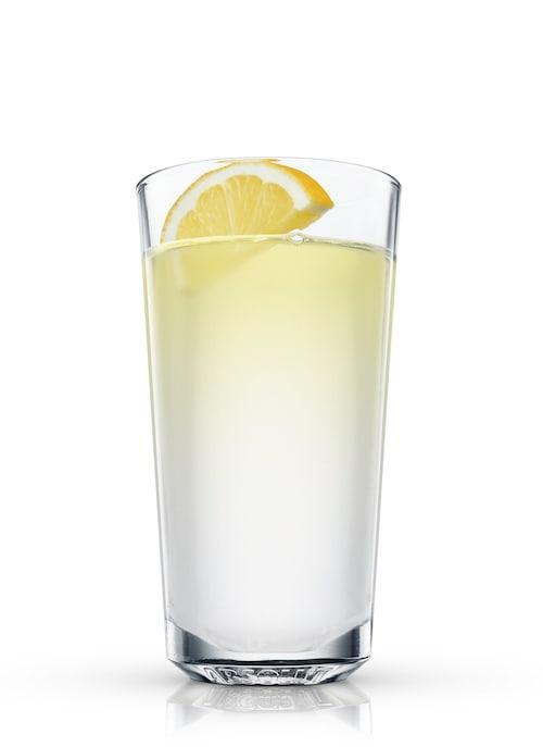 rum grog against white background