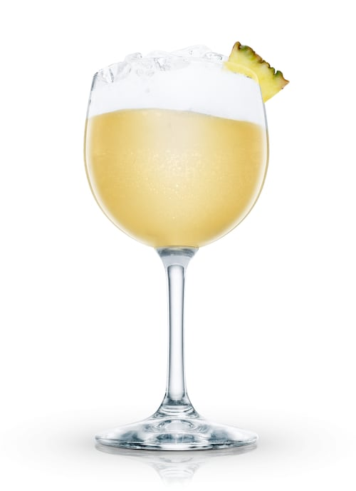 tropical colada against white background