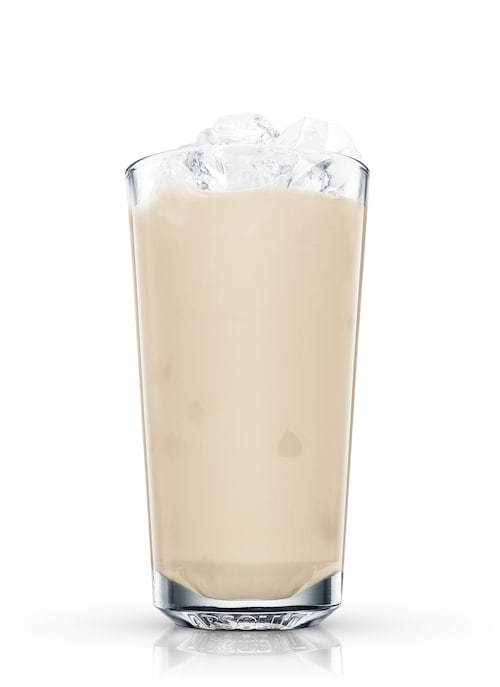 milk punch against white background