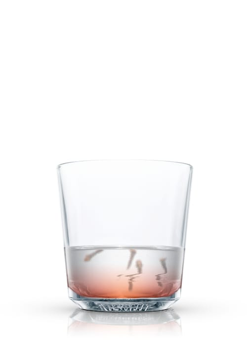 brandy toddy against white background