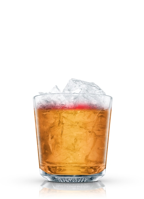 new york sour against white background