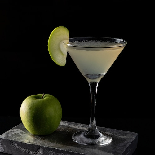 virgin appletini in environment